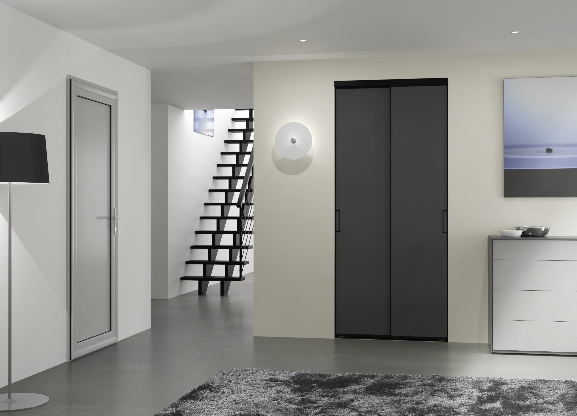 porte de placard style atelier yj75 jornalagora. Black Bedroom Furniture Sets. Home Design Ideas