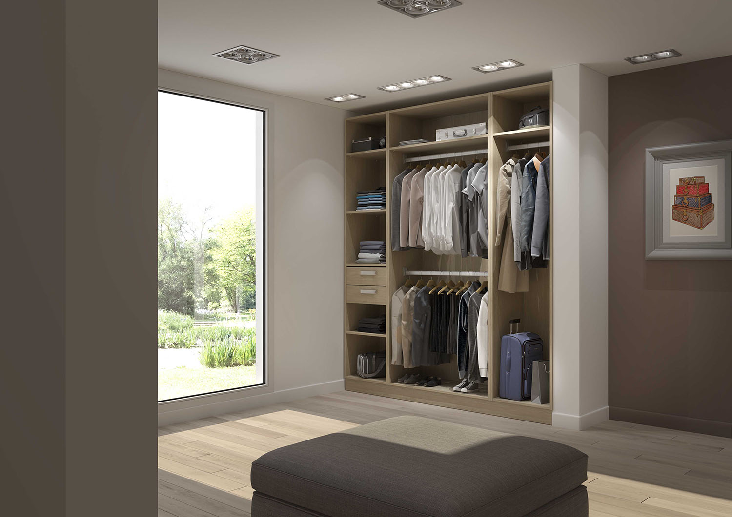 Dressing chambre comment bien l 39 am nager blog for Modele de chambre