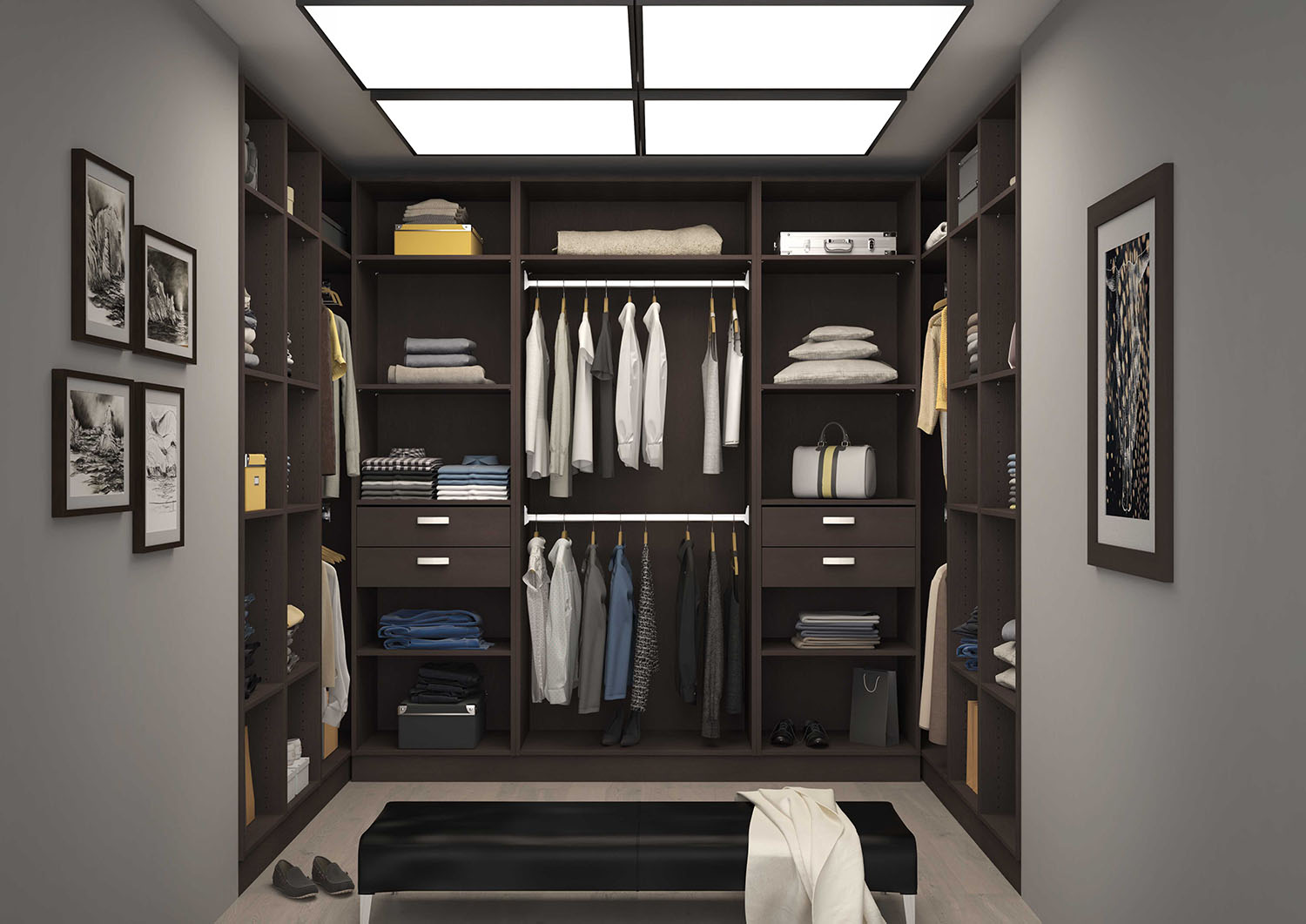 Dressing chambre comment bien l 39 am nager blog for Dressing lapeyre 3d