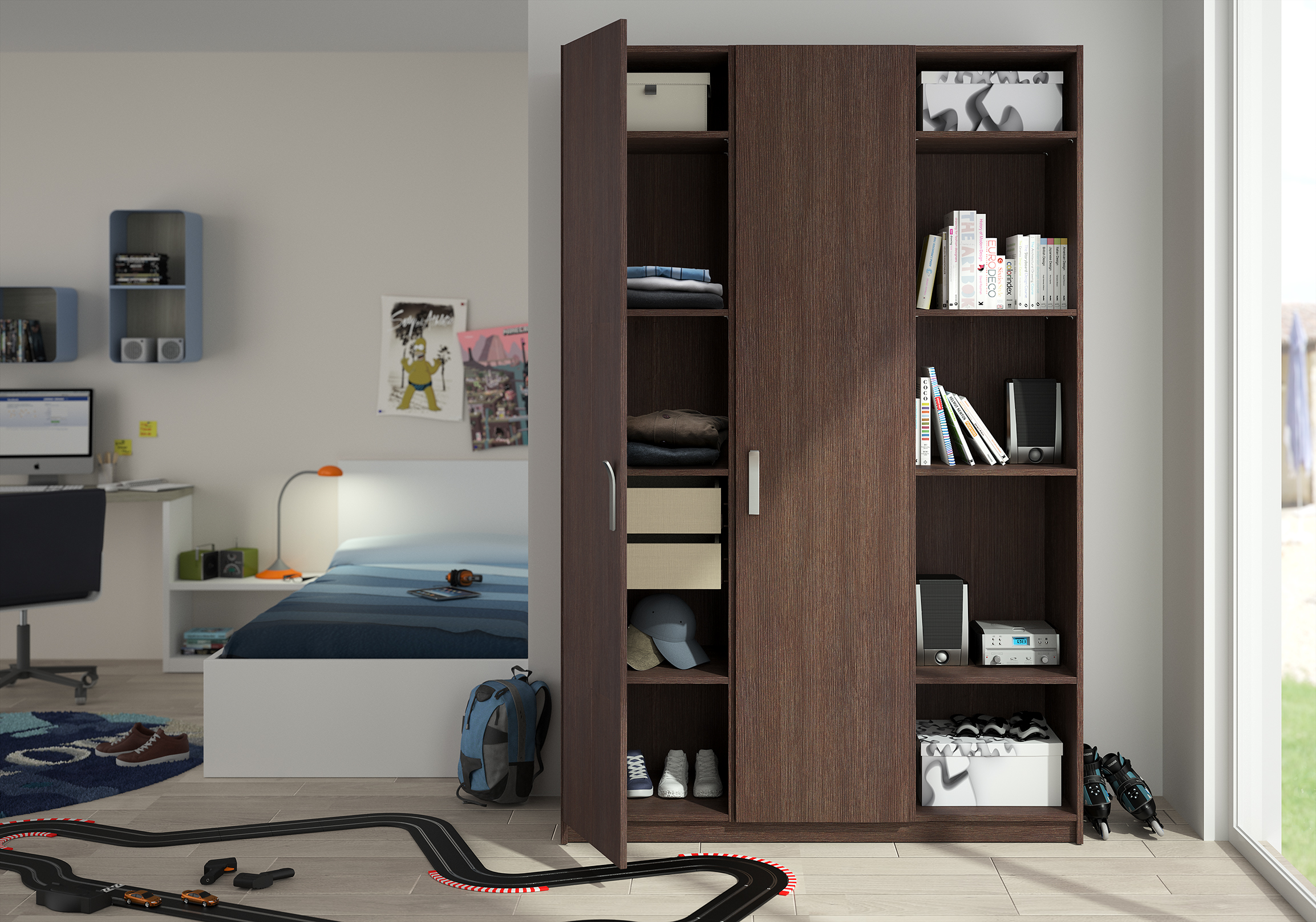 penderie chambre enfant good with penderie chambre enfant. Black Bedroom Furniture Sets. Home Design Ideas